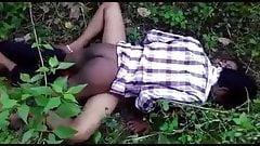 Desi girl fucked in the jungle
