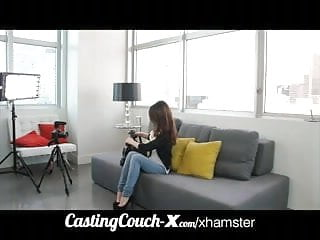 Gay mobile porn vids Castingcouch-x cali coed tries porn first time vid
