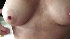 Wife tits. Nipples