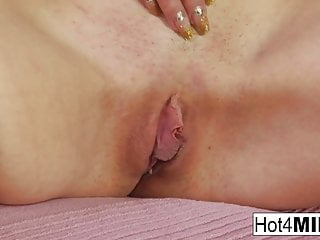 Milfs pussy pounding Russian milf marina receives a pussy pounding