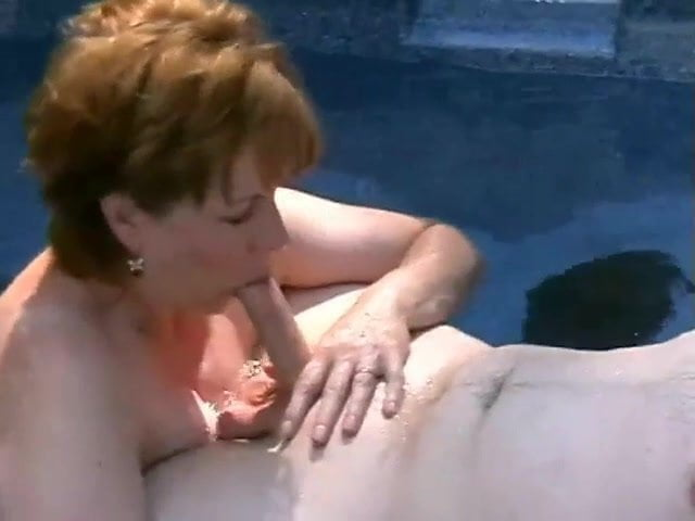 Mature sucking young cock