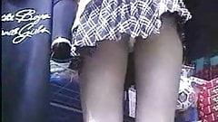 Upskirt Thong