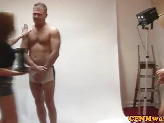Femdom cfnm free video Femdom cfnm sluts grab models cock