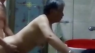 Asian Granny And Grandpa Fuck Doggystyle
