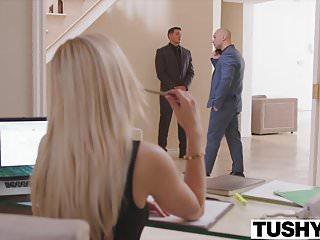 Boss bondage secretary Tushy hot secretary has anal with her boss