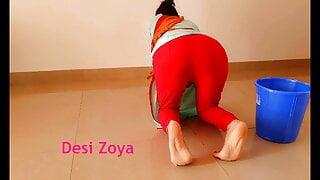 Anal sex with Indian maid at home with clear Hindi audio