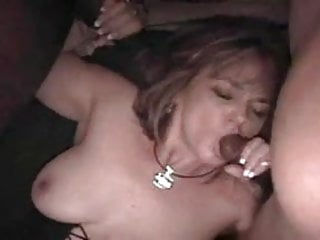 Mature wife sluts - Chubby slut wife gets gangbanged by 4 big black cocks chunk2of4.eln