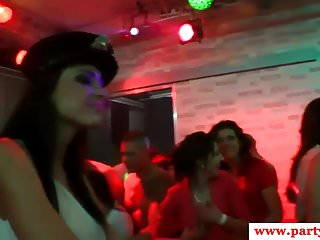 Chisel and cocks - Euro party babes munching on girls and cocks