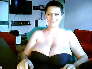 Huge fat saggy tits Milf dance and show your huge saggy tits