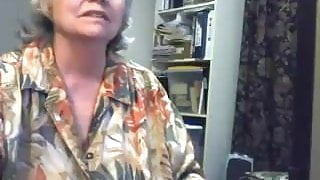 Huge Gran in a Webcam R20