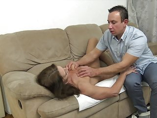 Free super hot granny porn Super hot granny seduced by greedy stepson