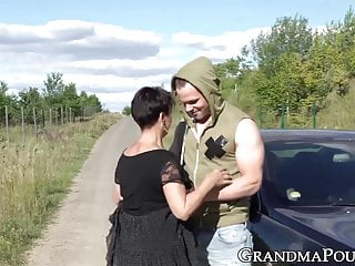 Fuck a succubus Mature succubus sucks off hung youngster on roadside