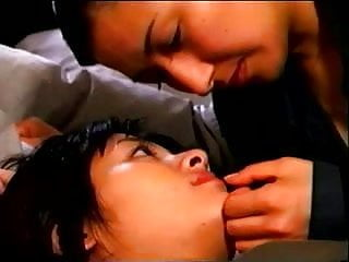 Asian model movie clip - Lesbian clip from unknown japanese movie 252b