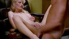 Boss Fucks Blonde Secretary After Work does Anal Creampie