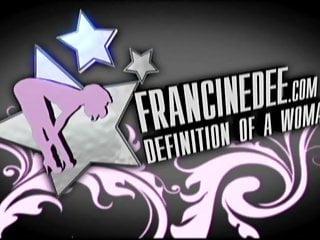 Francine dee bikini - Francine dee strips in car big boobs
