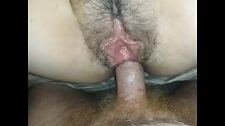 Cumming In Her Tight Open Asshole
