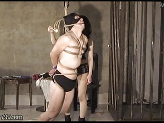 Daughters suspended tits cunt whipped - Japanese femdom suspended and whipped