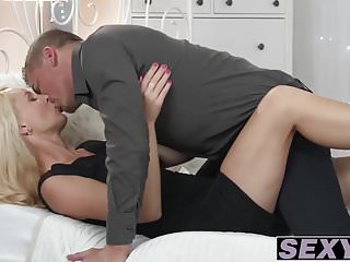 Nela fetish flea market - Stunning blonde babe nela angel getting pussy ripped