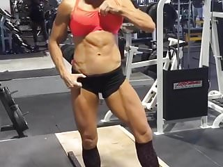 Female tan sex - Female muscle insane abs tanned asian