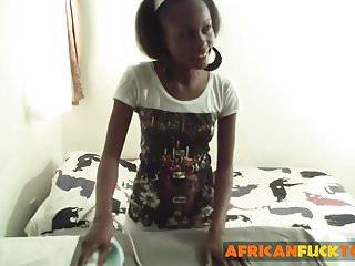 Ebony dominique fucked hard - Beautiful ebony babe shanice gets fucked hard and deep