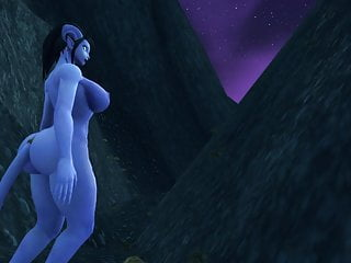 Male draenei nude - Cock hungry draenei talking some small cocked stud off