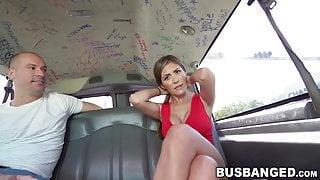 Tricked hottie Alexa Vega pussy banged in the fuck van