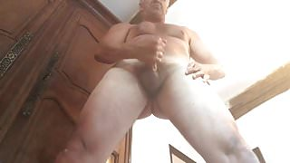 fit step dad emptying his balls