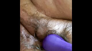 AriesBBW has that fat hairy cream pussy