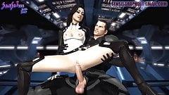 Hard Anal Fuck w BBW Mass Effect HMV PMV SFM