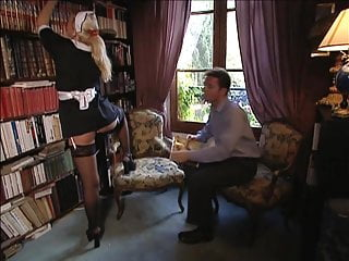 Swingers singers - Laura singer fucked as a french maid