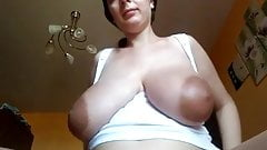 Wide Areolas - Cum on