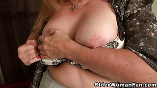 An older woman means fun part 490
