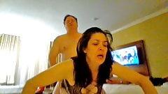 Sexy latina MILF Gabriella Vega gives anal sex