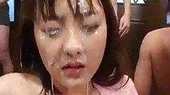 FACES OF CUM : japanese teen