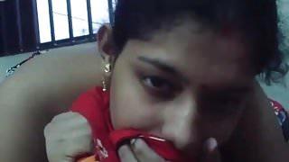 Bengali mature boudi sucking boyfriend