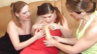 Three lesbians