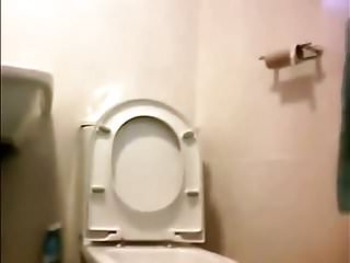 Girls taking a piss Girl in glasses spied taking a piss