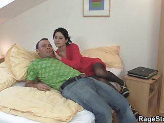 Rough gay anal cock riding - Deep blowjob and rough cock riding