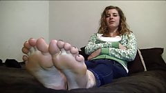Ashlyn feet