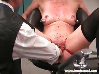Pictures bdsm slave - I am pierced bdsm slave with pussy piercings stuffed