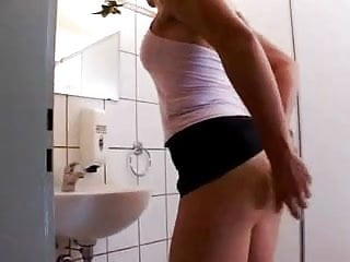 Nudist slut German slut takes cock in the ass