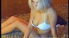 Super Hot Blonde on Webcam