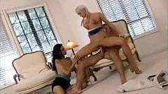 Silvia Saint & Nikita Denise Threesome