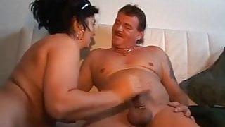 german mature sucks & fucks