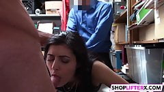 Officer Has A Hard Cock For Sweety Audrey