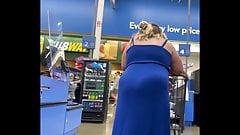 Bbw en un vestido ajustado transparente - vpl
