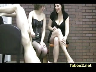 Nude boy punishment - Katy and miranda punish boys