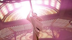 Dead or alive kasumi poledance