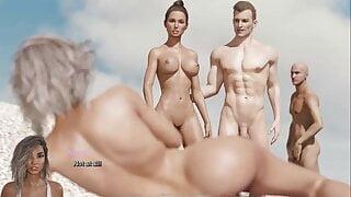 The Adventurous Couple:Couple On A Nude Beach-Ep47