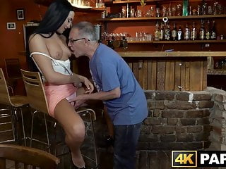 Steelers bar stools in dicks md - Naughty vixen seduces and rides old mans dick in a bar